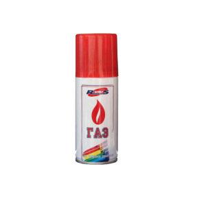 """Газ для зажигалок """"RUNIS""""(с насадками)140мл. Россия"""