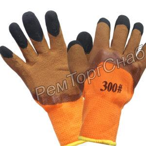 Перчатки акриловые утепленные Тора 63 ноготки