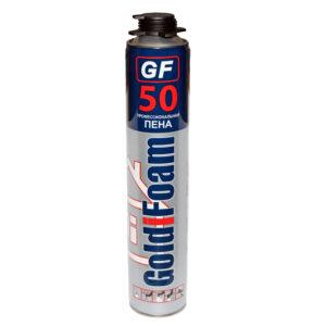 Профессиональная монтажная пена GoldiFoam (50) 1000 мл.
