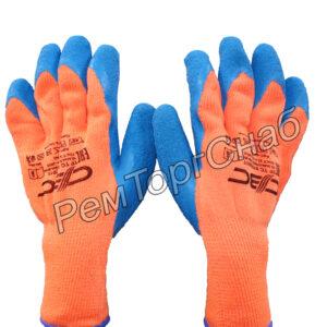 Перчатки акриловые с ворсом со вспененным латексным покрытием СВС Ф.