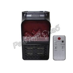 Обогреватель Flame Heater с пультом 500 w.(имитация камина)